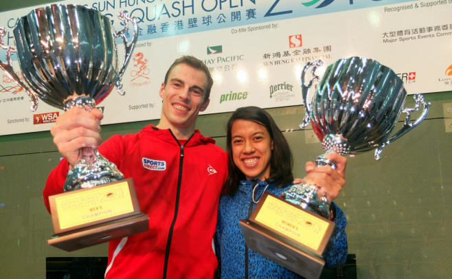 Nicol David, Nick Matthew, Hong Kong 2013